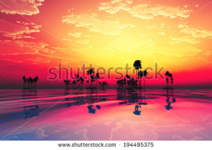 extrabild 2015 stock-photo-purple-sunset-in-clouds-over-coconut-tropic-island-194495375